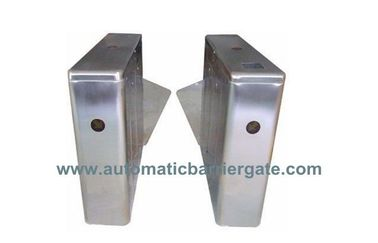 ประเทศจีน IC ID Card Dual Way Stainless Steel Retractable Flap Barrier for Bus Station RS485 โรงงาน
