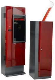 ประเทศจีน Temporary Card, Bar Code Intelligent Car Parking System Entrance barrier Gate 12V AC / DC โรงงาน