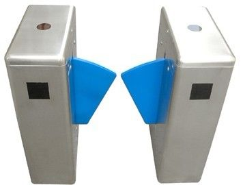 ประเทศจีน Digital Remove Control Auto Reset Versatile One-way Direction Retractable Flap Barrier โรงงาน