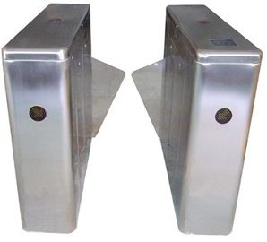 ประเทศจีน ID Card High Capability Dual Way Stainless Retractable Flap Barrier for Bus Station RS485 โรงงาน