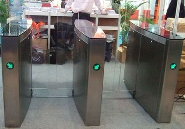 ประเทศจีน Indoor IC Card Versatile Flap Swing Arm Barrier for Subway wih 304# Stainless Steel Plate โรงงาน