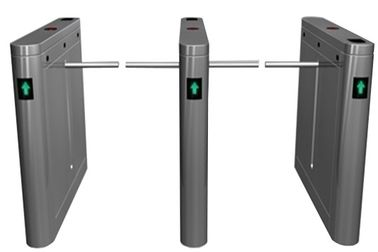 ประเทศจีน Outdoor Dual Way 180 Angle Barrier Arm Gates with LED Display for Bus Station RS485 โรงงาน
