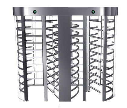 Automatic Electric Full Height Turnstile Entrance Gate With Stainless Steel Tube ผู้ผลิต