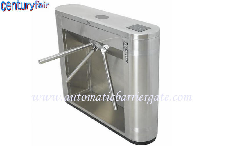 Stainless Steel Tripod Turnstile Gates For Supermarket Time Attendance ผู้ผลิต