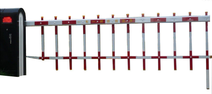 6s Car Painting Luxury Reliable Barrier Gate for Living Zone, School , Hospital, Government ผู้ผลิต