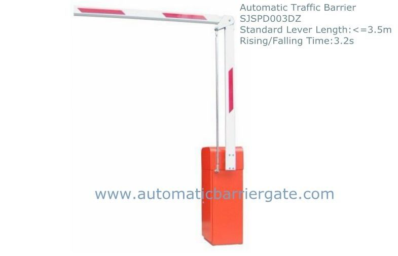3.2s Heavy Duty High Integration Customizable Reliable Powder Coating  Automatic Traffic Barrier Gate ผู้ผลิต