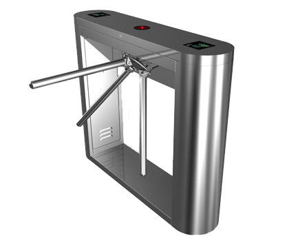 Subway, Airport 0.2s Security Barrier Gate System, Magnetic Card Turnstile Access Barrier ผู้ผลิต