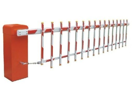 6s Customizable Reliable Powder Coating Barrier Gate System for Living zone, School, Hospital, Government ผู้ผลิต