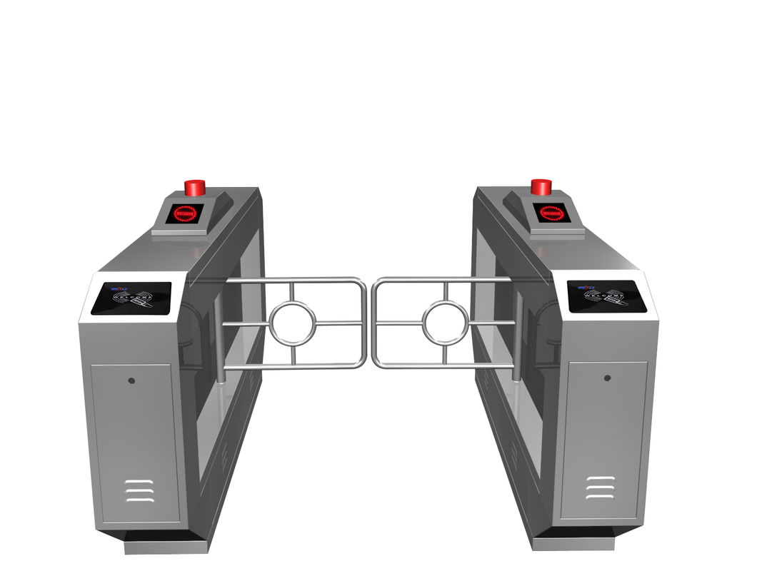 Magnetic Card One-way Direction Self-checking Automatic Swing Gate Barrier RS485 AC220V ผู้ผลิต