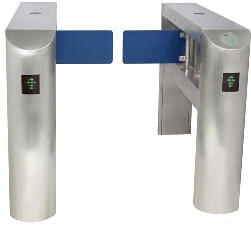 IC Card Two-way Direction DC 24V Brushed Motor Automatic Swing Gate Barrier for Museum ผู้ผลิต