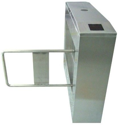Two-way Direction 180 Angle 304# Stainless Steel Automatic Swing Gate Barrier AC220V 50Hz ผู้ผลิต