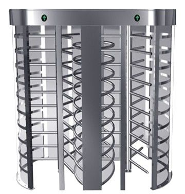One-way Direction Full Height Turnstile Entrance Gate with Stainless Steel Tube (0.2s) ผู้ผลิต