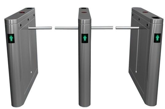 Outdoor Dual Way 180 Angle Barrier Arm Gates with LED Display for Bus Station RS485 ผู้ผลิต